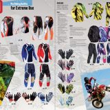 Sinisalo motorsport apparel brochure design, 2013 season