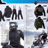 Rukka Motorsport snowmobile apparel brochure design, autumn/winter 12/13